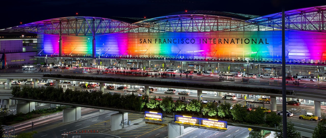 SFO Airport Car Service - Holiday Colors