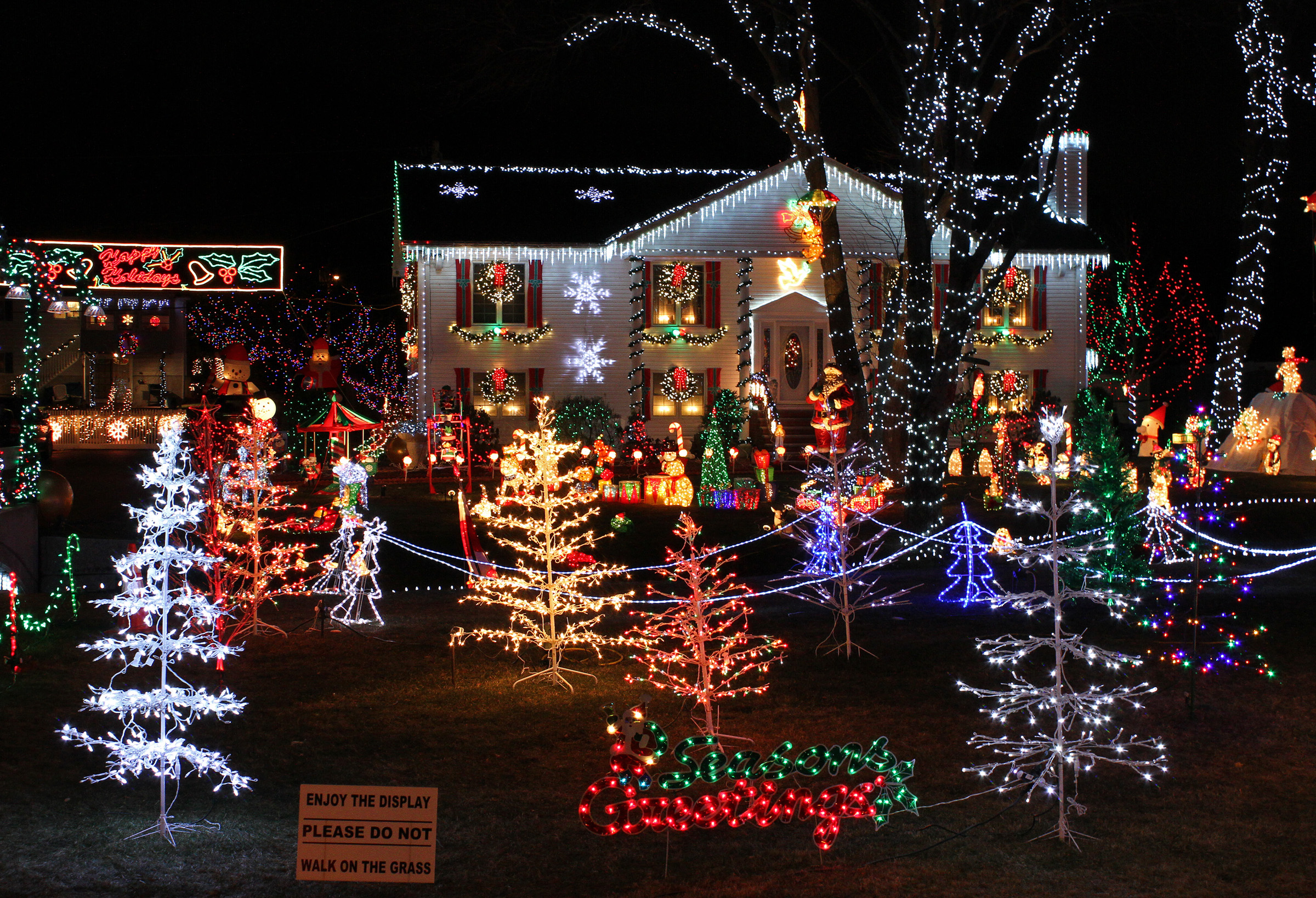 christmas lights tour south bay sedan limo service san jose ca - Bay Area Christmas Lights